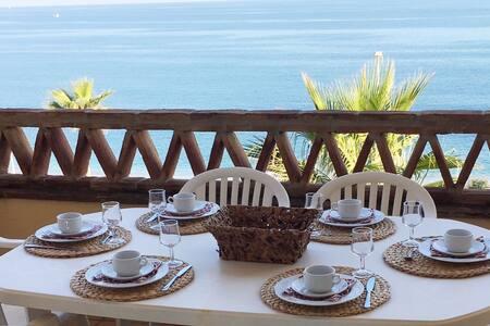 Piso en primera linea del mar - Las Lagunas de Mijas