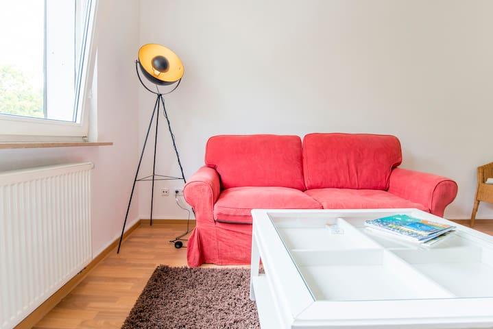 Eine schöne möblierte Wohnung in Essen/ Kupferdreh