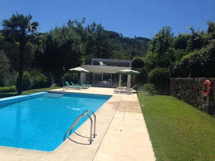 Amazing Granitic Villa in Vieira do Minhowith Pool