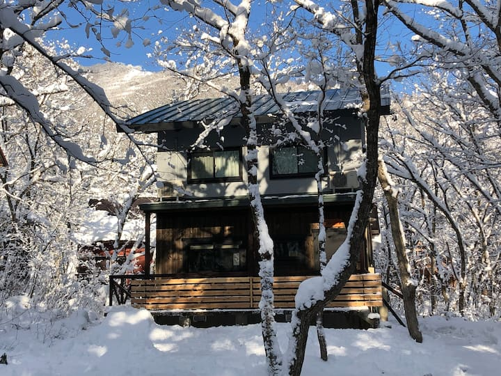 Ryder's House @Misorano, Hakuba Near Echoland