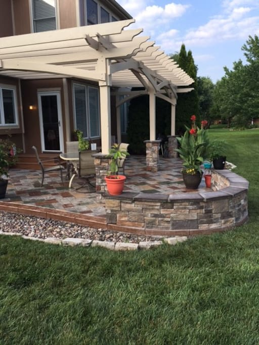 Great Patio!