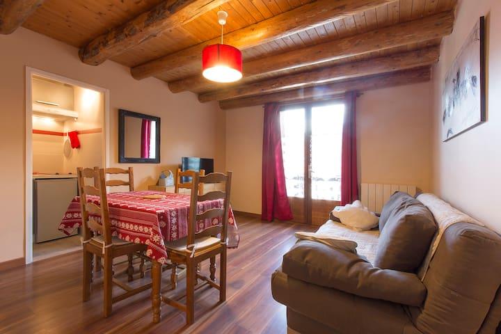 Appartement  face au Mont Blanc (Malorie)