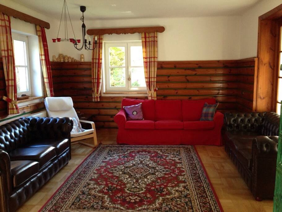 Sitting room, to relax, talk and chill out.