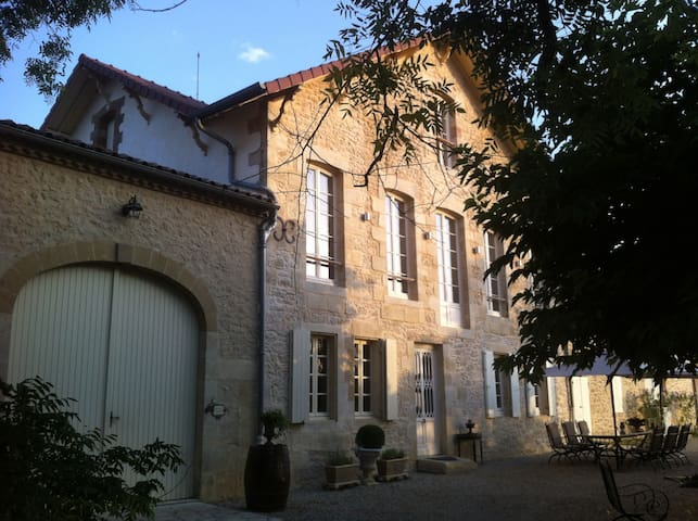Deux Chambres en Maison de maitre. - Saint-André-du-Bois - Hus