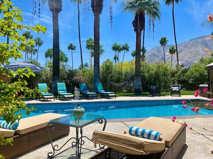 Villa Escuela,Old Palm Springs Vibe,Little Tuscany