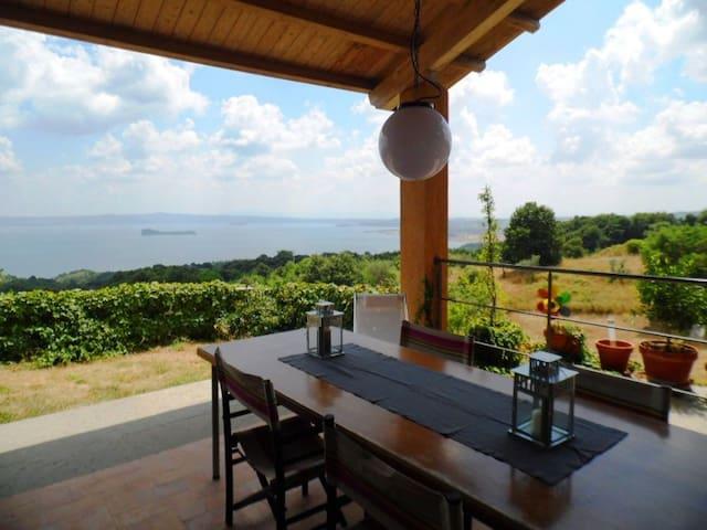 Vista panoramica e tranquillità - Gradoli