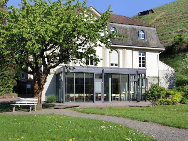 Nostalgie pur: Wohnen in einer Jugendstil-Villa - 겡언바흐 - 별장/타운하우스