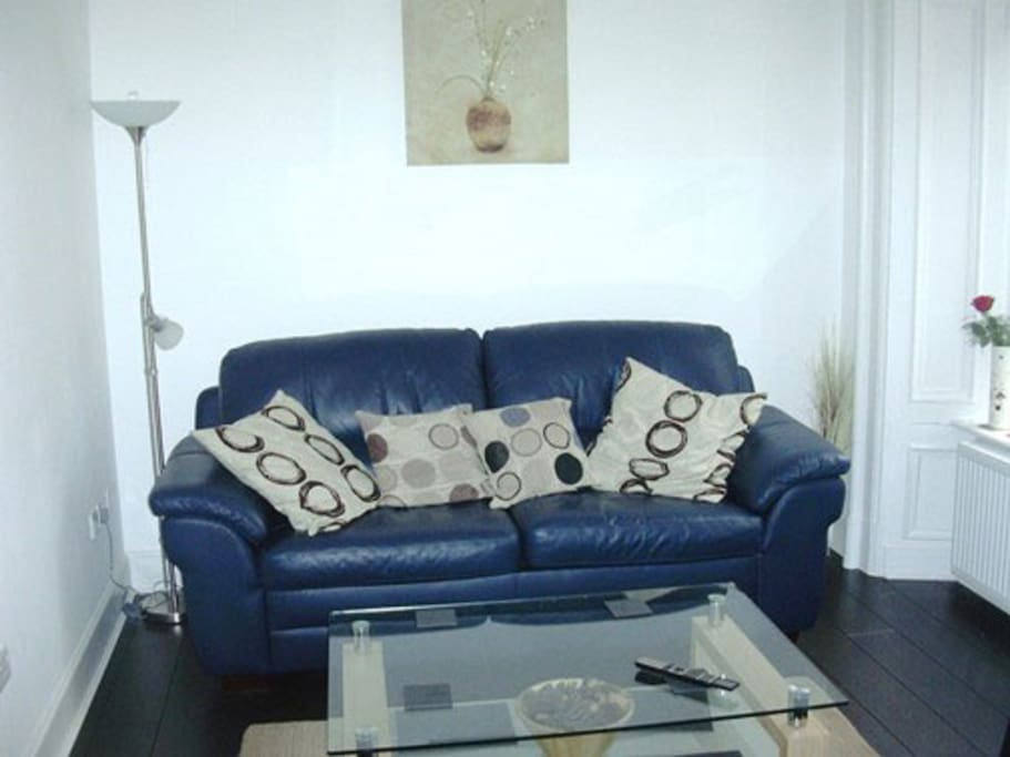 Comfortable sofa and seating in the lounge.