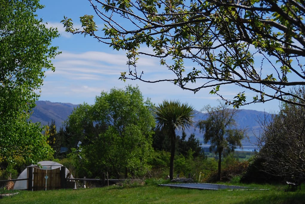 Lake Hawea glimpses