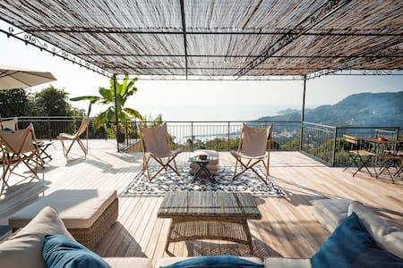 Villa con vista mozzafiato sul Golfo del Tigullio - ราปัลโล