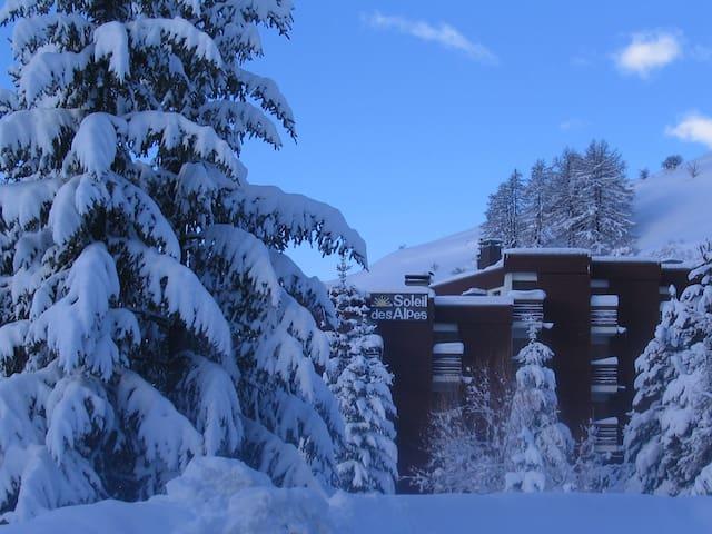 Studio résidence soleil des alpes