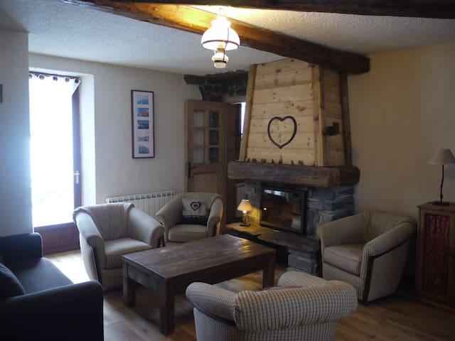 Gite plein de charme pour 8 pers à Valmorel - Les Avanchers-Valmorel - House