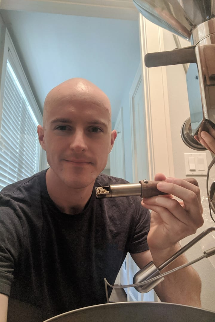 Coffee lover turned coffee roaster!