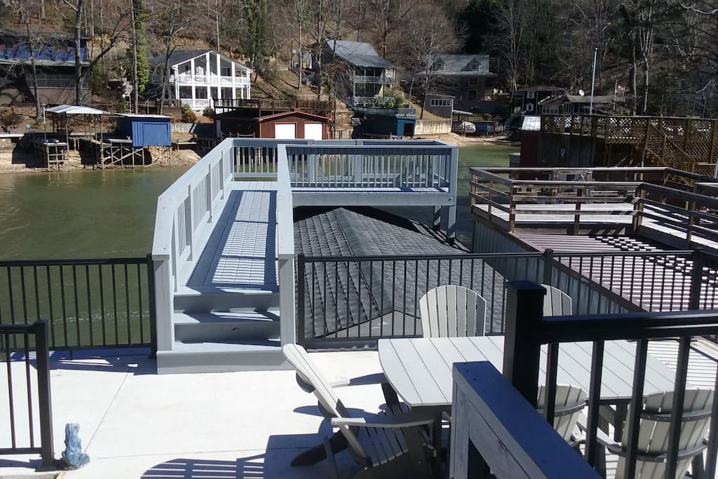 The new boat house.