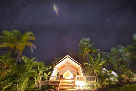Ikurangi Eco Retreat- Glamping Rarotonga - Avarua District - Szoba reggelivel