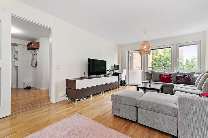 A apartment close to subway and city centre