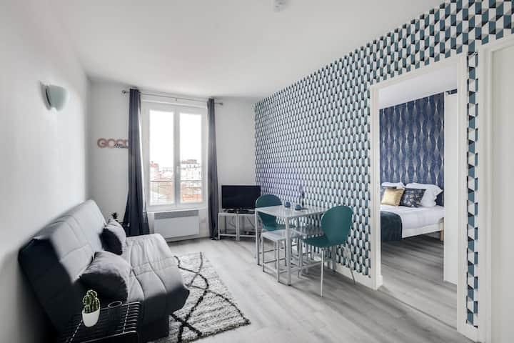 806 Suite Magic, Beautiful APT, Door of Paris