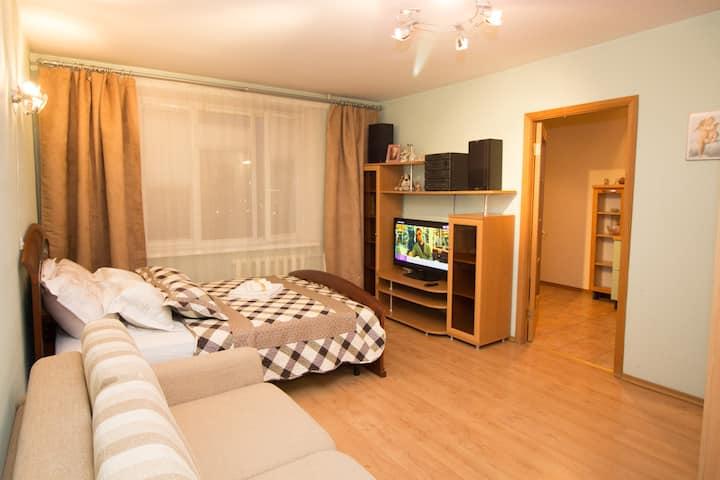 Чудесная квартира рядом метро Молодежная