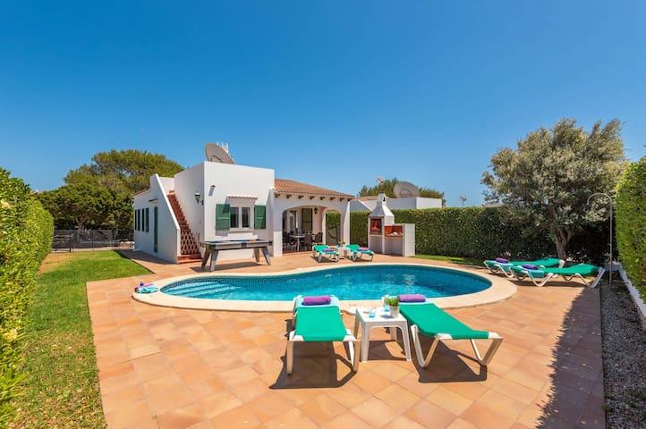 Dolfi 3 bedroom villa, Cala'n Blanes