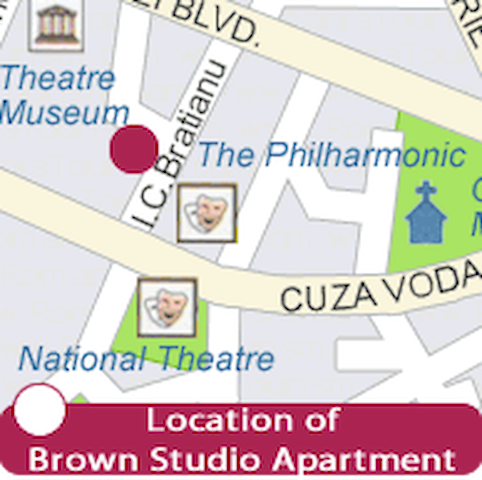 Brown Studio - right in the city center - Iași - Διαμέρισμα