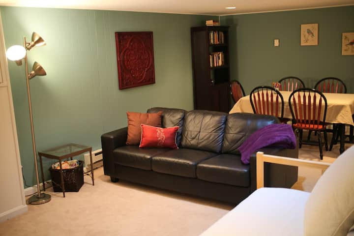 Private Apartment Steps to Metro, DC, Mall, & Park