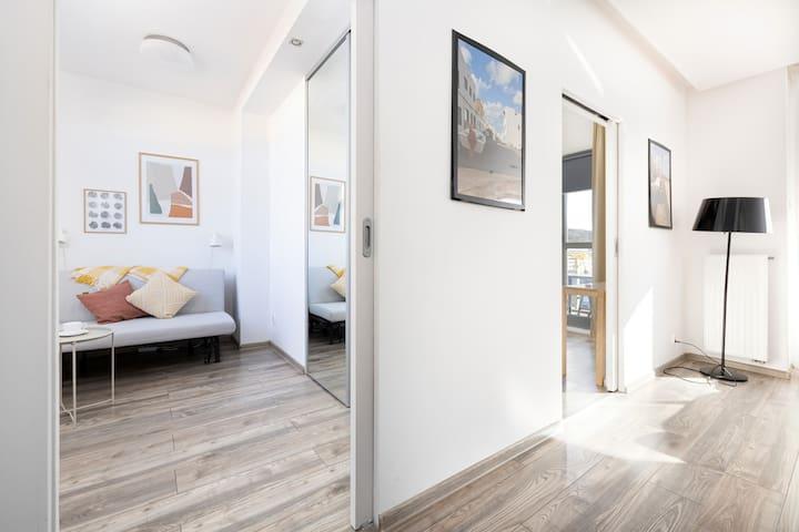 Bedroom of Pod Gryfem 206 apartment