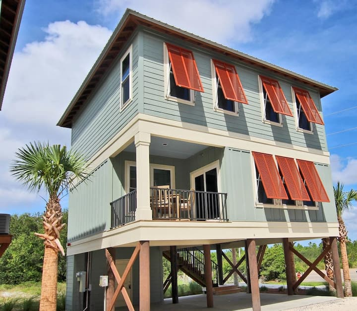 Hammock Dunes A  2 Br 3 Ba New Beachside Cottage 220 steps from the sand! **Coming in November 2020**