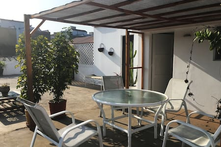 Terrace with ocean view in the heart of Barranco