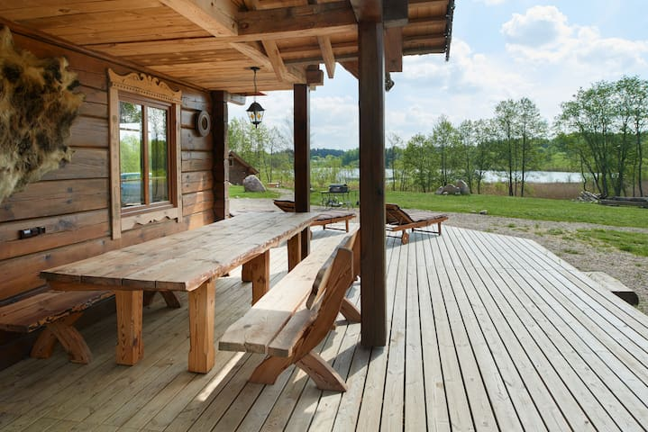 """Dabintos valley"" lake house 2 - Elektrėnai Municipality - Casa"