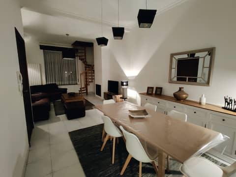 Modern duplex 100m2 perfect to visit Brussels