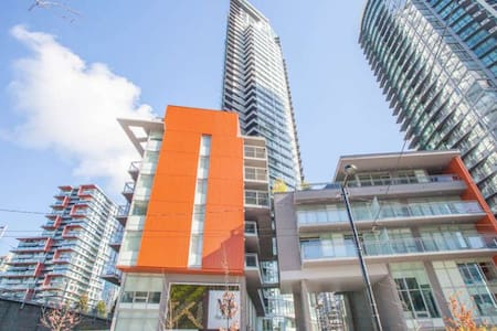 Yaletown, King bed with Ocean View - Vancouver - Byt