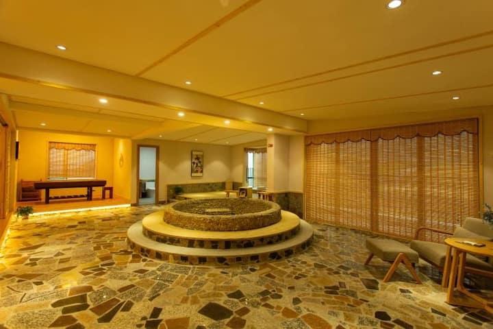 日式超豪华锶温泉水疗套房(2208房)