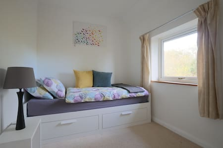 Dartington home with scenic views and wild garden