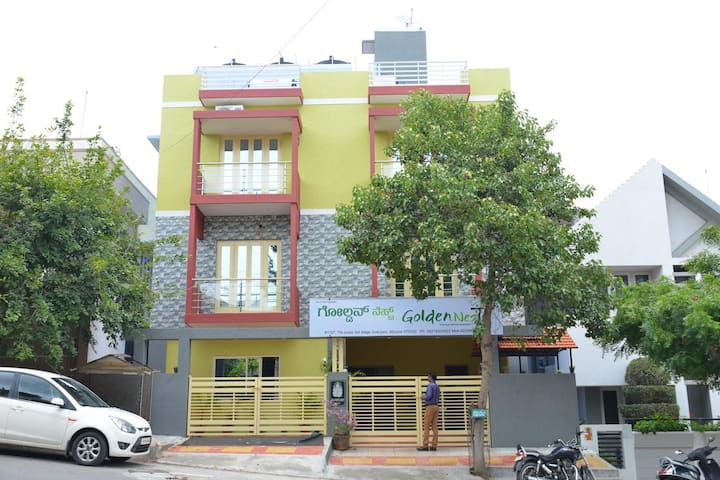 Golden Nest Gokulam Mysore ( 3 guests )