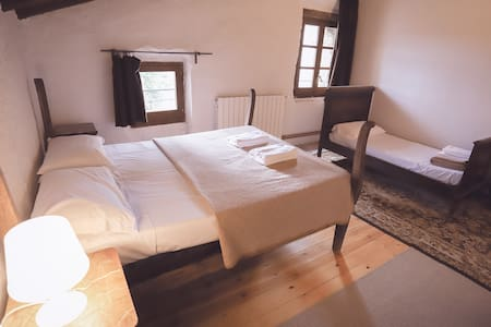 """Bedroom """"Banyoles"""" with swimming-pool"""