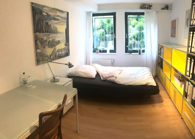 1 ruhiges Zimmer im Grünen - 20 Min Innenstadt