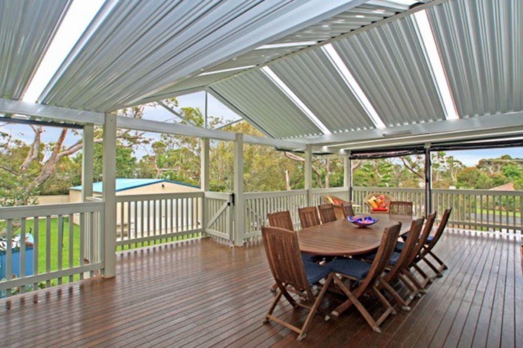 Back Deck, perfect for dining and relaxing
