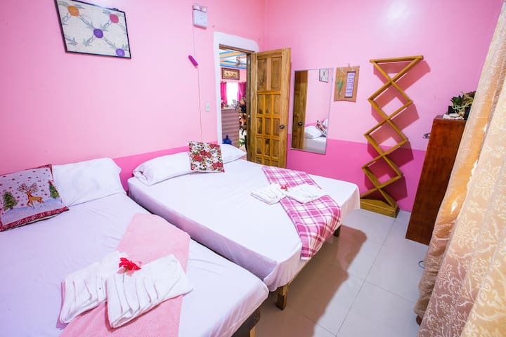 AC Twin Room in Secluded Isla Haruhay Homestay (2)