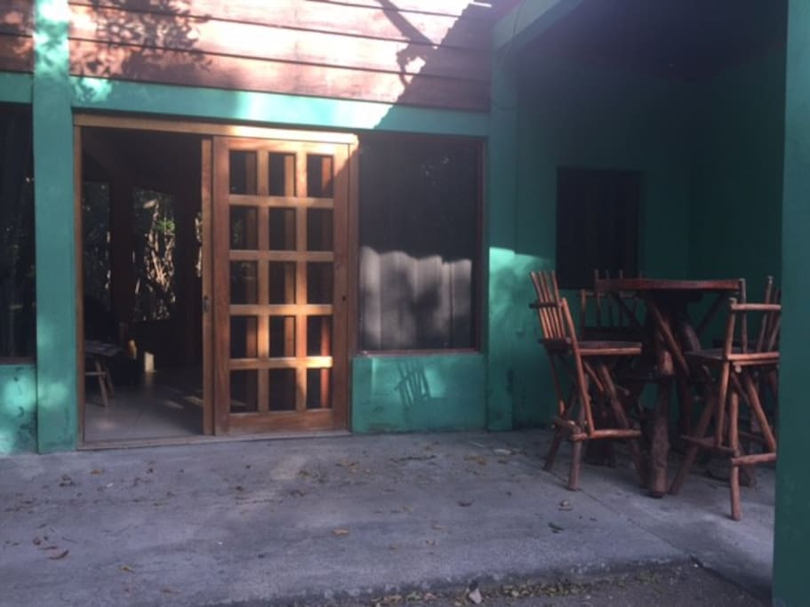 2-story gem hidden by the mangrove trees at the estuary.