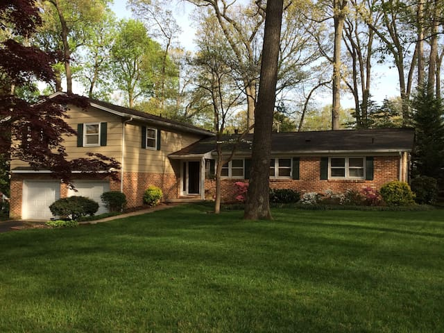 Comfy Queen Near BWI & Annapolis - Severna Park - Hus