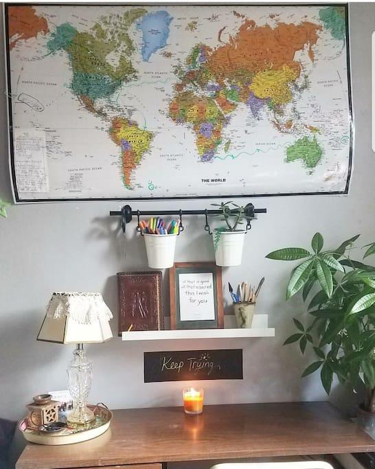 2 desks in your room!
