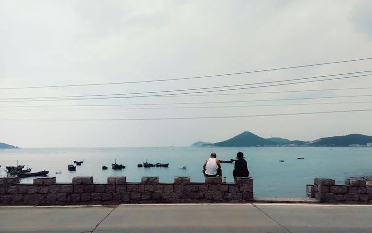 温馨海景家庭房 - Qingdao - House