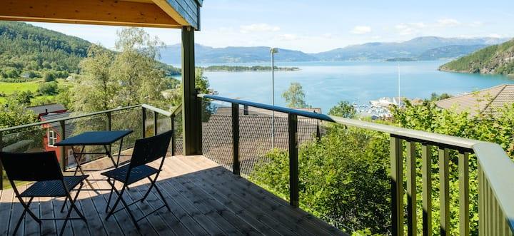 In the hillside above the Hardanger Fjord