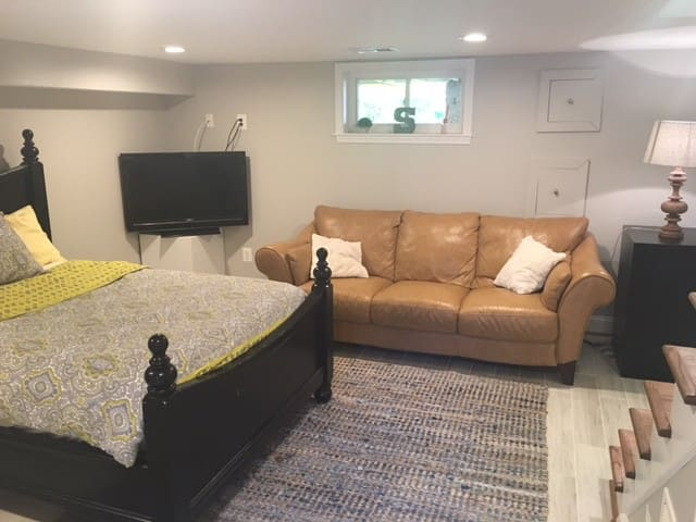 Private Suite 5 Mins from DCA-1 bed 1 bath