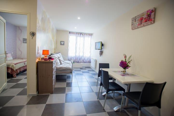 Appartement Romantique  tout confort classé ** 4 D