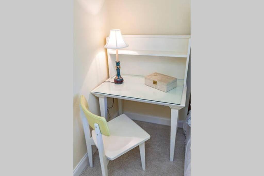Desk in the Yellow Bedroom