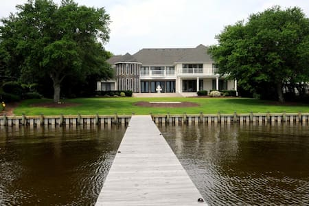 Stunning Waterfront Estate - Currituck - Dům