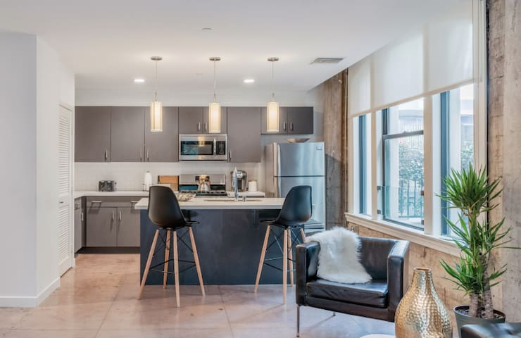 Explore Downtown from this Stylish Apartment
