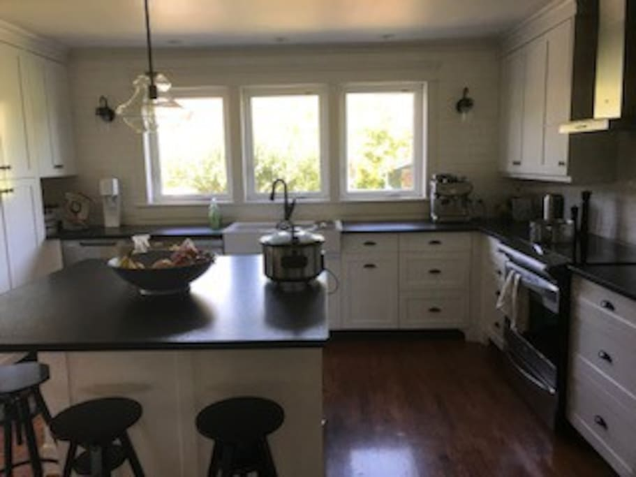 Did we mention granite countertops, convection stove and TWO dishwashers.