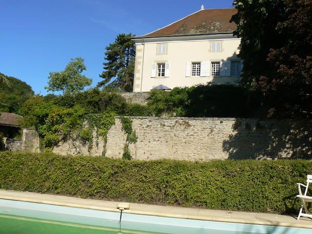 Maison anc.dans village de la Drôme - Charmes-sur-l'Herbasse - Casa
